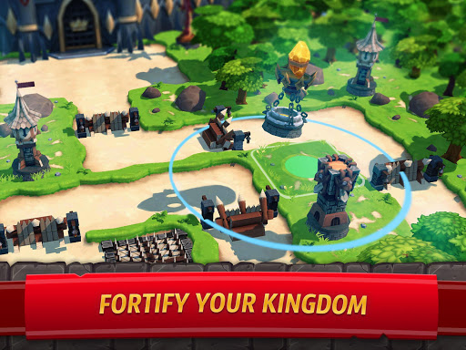 Royal Revolt 2: Tower Defense RTS & Castle Builder screenshots 10