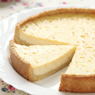 Egg Custard Pie.