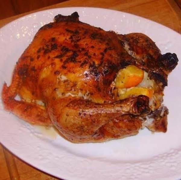 Garlic And Citrus Roast Chicken Recipe
