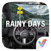 Rainy Days Parallax V Launcher Theme