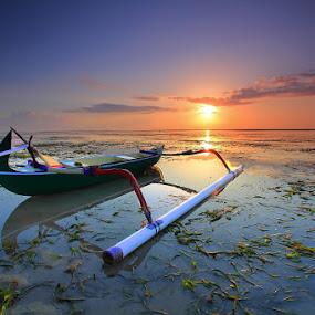 Resting by I Komang Windu - Transportation Boats