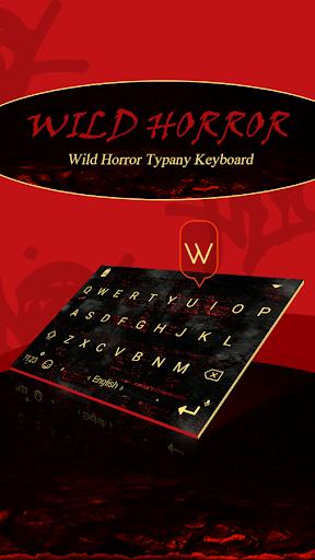 mod Wild Horror Theme Keyboard 4.5 screenshots 1