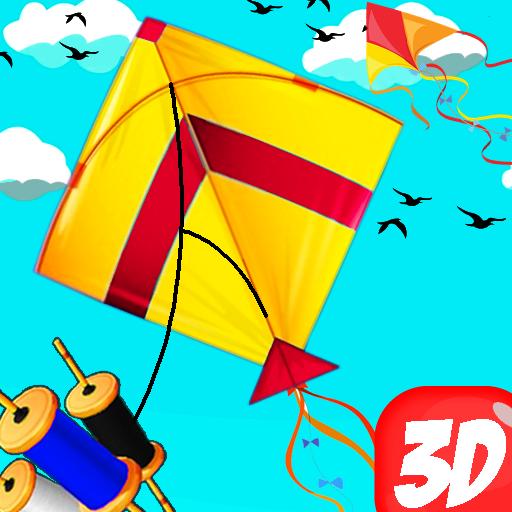 Basant The Kite Fight 3D : Kite Flying Games 2020