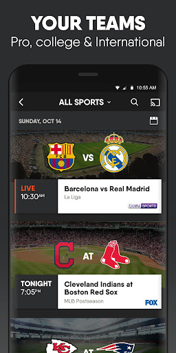 fuboTV: Watch Live Sports & TV Apk 2