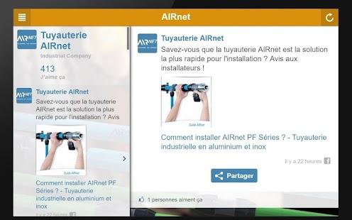 Tuyauterie AIRnet - náhled