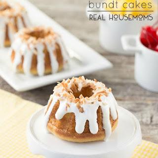 Pina Colada Bundt Cakes