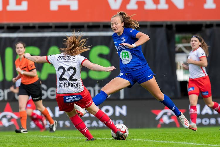Super League: les Gent Ladies se rapprochent de la deuxième place