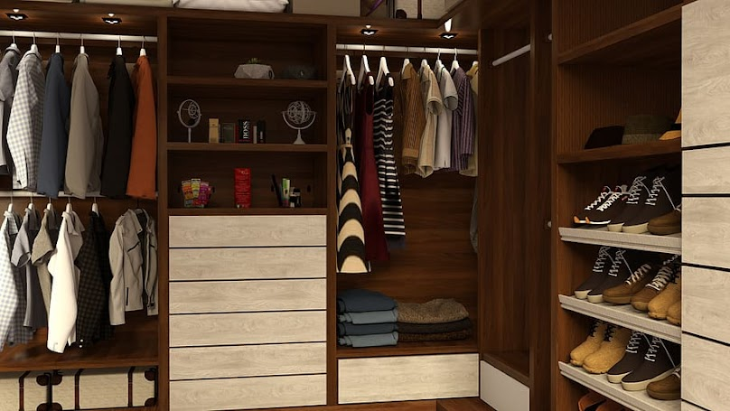 Posiadanie garderoby ma też swoje wady