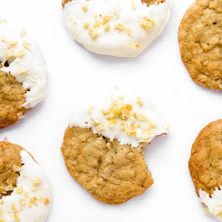White Chocolate Ginger Oatmeal Cookies