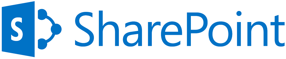 sharepoint logo blue transparent background