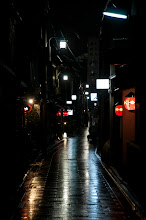 Photo: Wet night in Gion