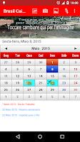 Screenshot of Brasil Calendário 2015