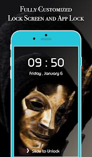App Lock Theme - Mask - náhled