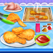 Deep Fry Chicken Maker: Fast Food Cooking