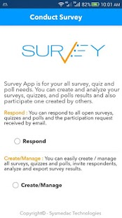 Survey App- screenshot thumbnail