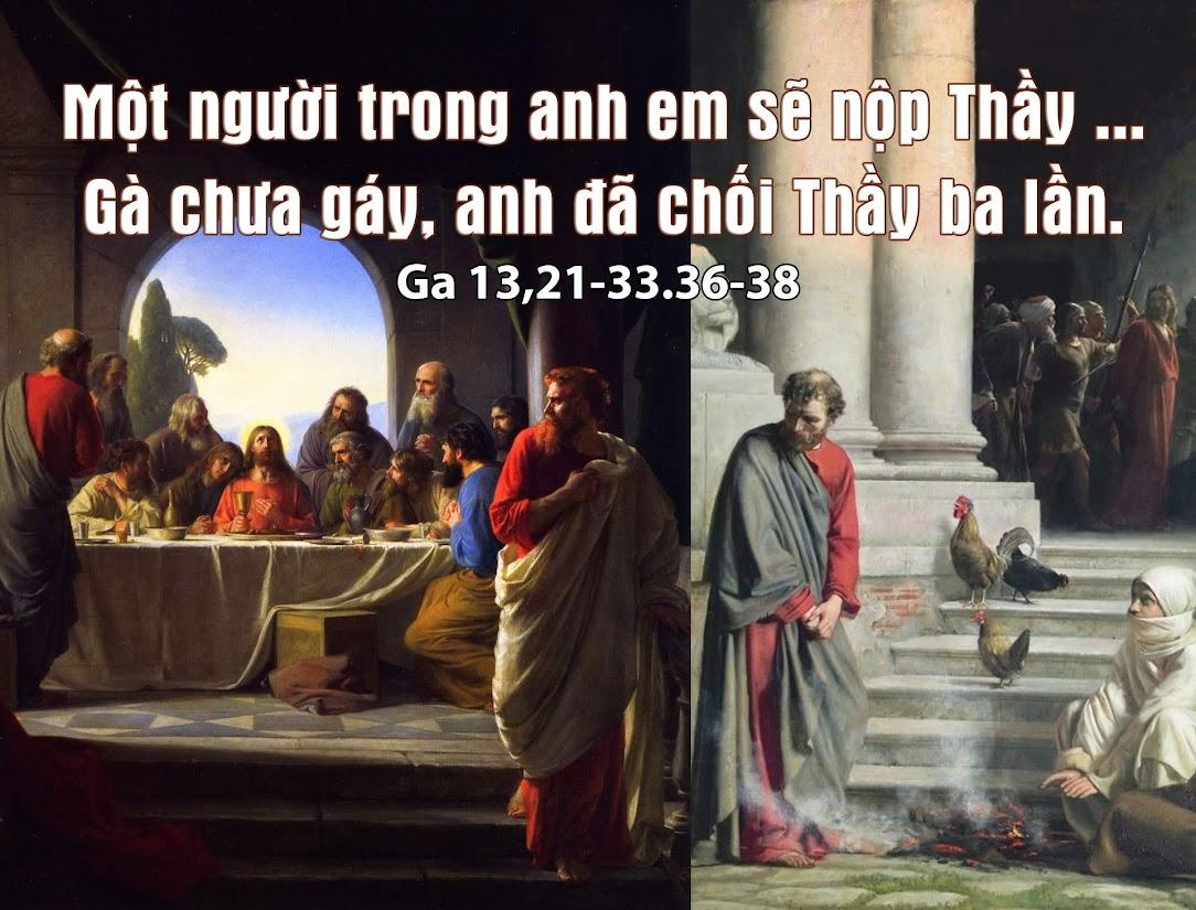 Xin đừng phản bội hoặc chối bỏ Chúa! (07.04.2020 – Thứ Ba Tuần Thánh) –  HUYNH ĐOÀN GIÁO DÂN ĐA MINH