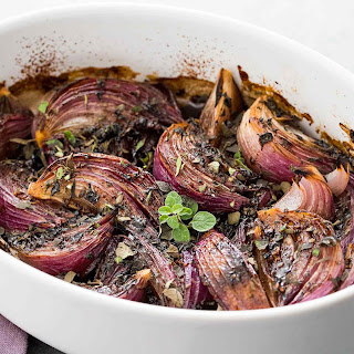 Balsamic-Glazed Red Onions