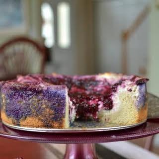 Triple Berry Cream Cheese Coffee Cake.