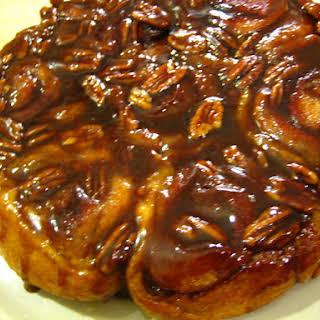 How To Make Sticky Buns With Cinnamon #PastryRecipesWorldwide.