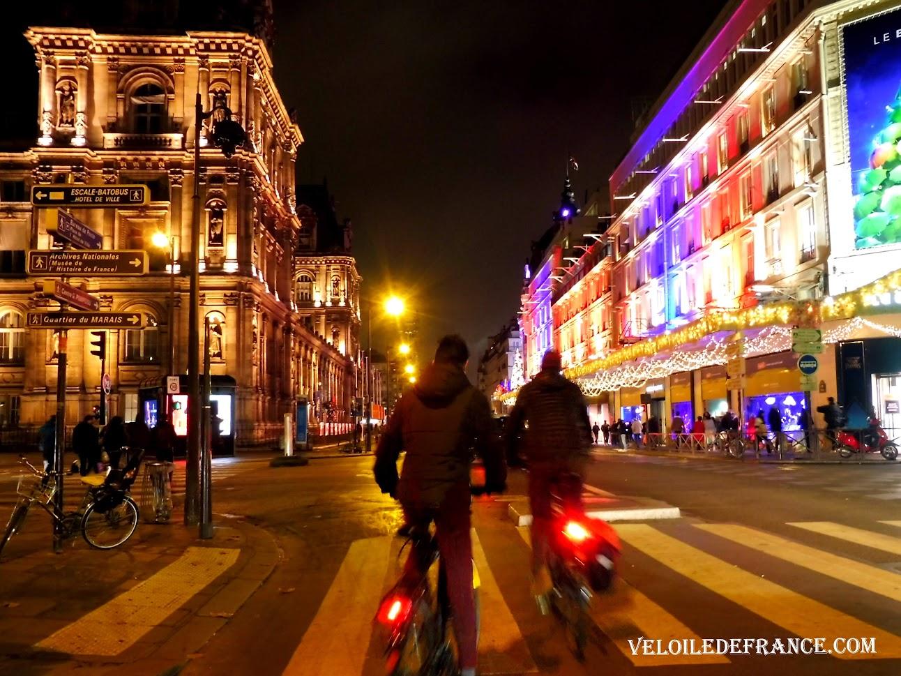 Rue de Rivoli Noel