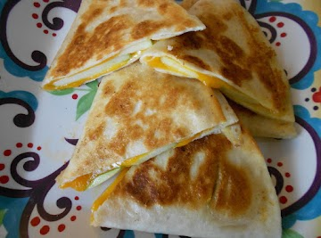 Apple Cheddar Quesadillas Recipe