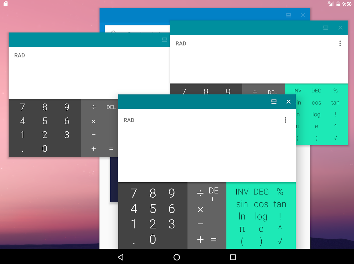 Parallel Windows for Nougat- screenshot