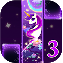 Magic Unicorn Piano tiles 3- Magic Tiles Hot Songs icon