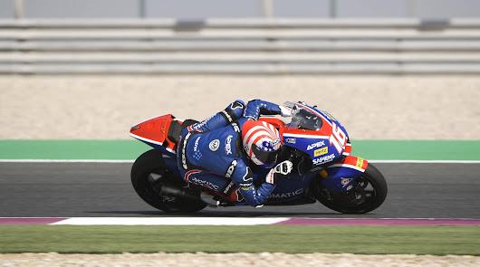 """Suzuki en Moto3 y Roberts, en Moto2, primeras """"poles"""" del año"""