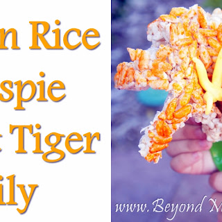 Vegan Rice Krispie Treat Tiger Lilies