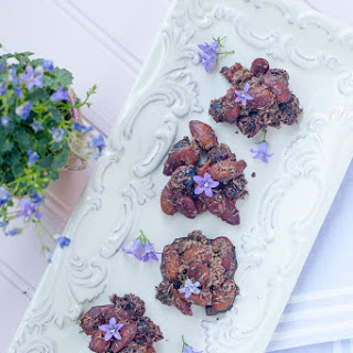 Blueberry Cocoa Almond Clusters