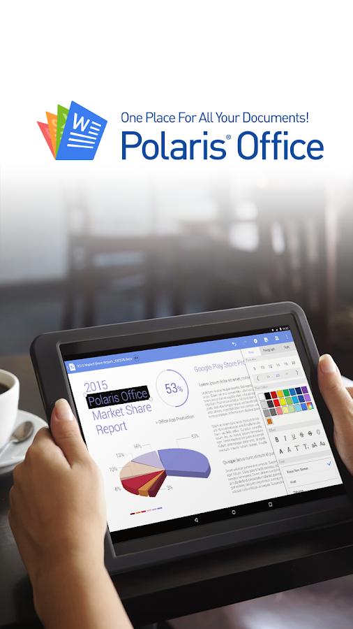 Polaris Office + PDF - screenshot