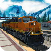 Fast Cargo Train Drive–Subway Hill 3D Transporter