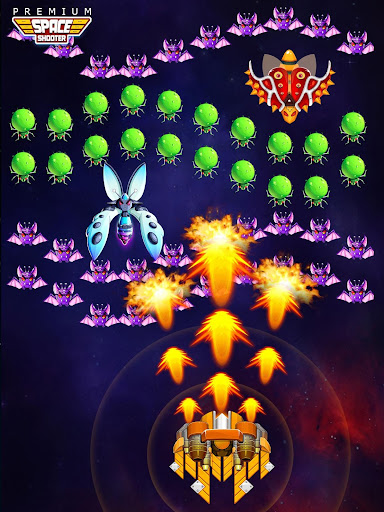 Space Shooter: Alien vs Galaxy Attack (Premium) apkpoly screenshots 18
