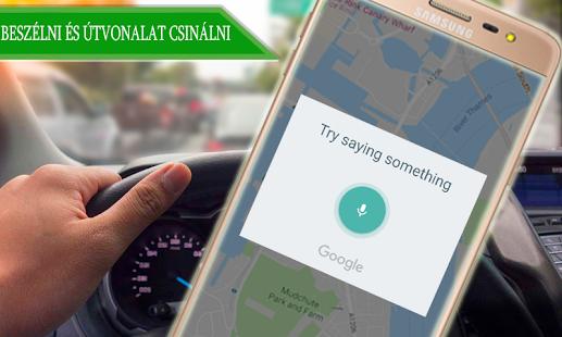google élő térkép Hang Navigáció GPS Útvonal Útvonal Élő Térkép – Alkalmazások a