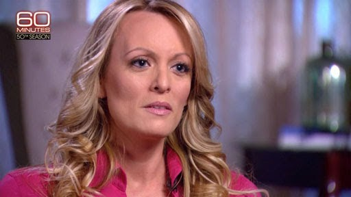 Stormy Daniels' sketch reveals someone familiar
