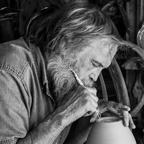 Inspired and Inspiring by Marie Browning - People Portraits of Men ( oregon, redwoods, california, potter, people,  )