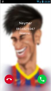 Fake Call Neymar - 2017 - náhled