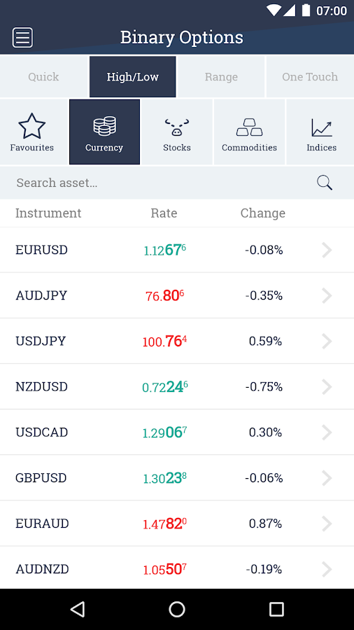 WMoption Broker Trading App- screenshot