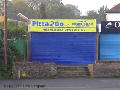 Pizza 2 Go On Wellingborough Road Fast Food Delivery In
