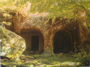 Photo: Fig. 31. Prospetto, Tomba della Regina, Faleri.