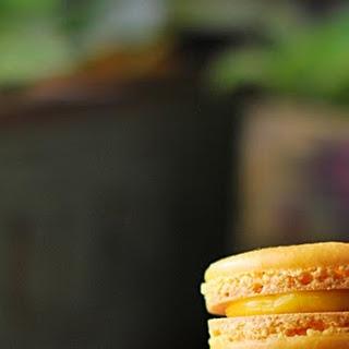 Orange Macarons.