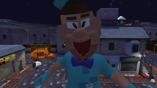 Hello Ice Scream Craft Neighbor For MCPE screenshot 1