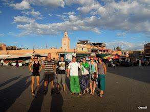 Photo: náměstí Djemaa el Fna, Marrakesh