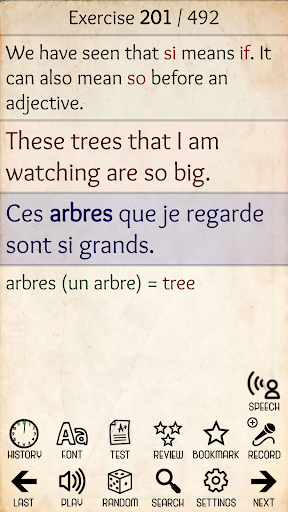 learn french from scratch screenshot 2