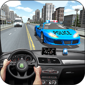 Racing In Police Car for PC and MAC
