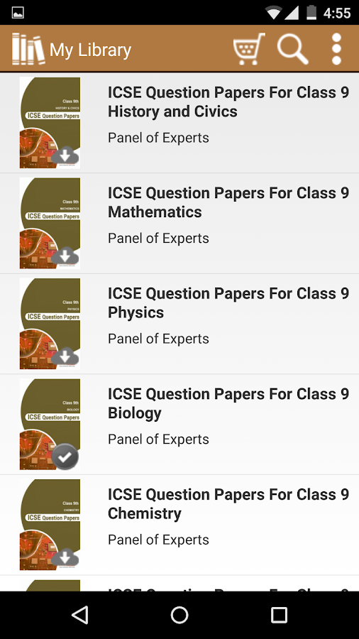 ICSE Class 9 & 10 Solved Paper - Android Apps on Google Play