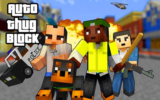 Auto Thug Block Cities 1.0 screenshots 2