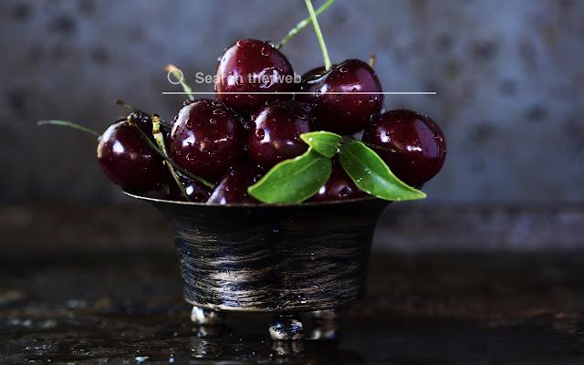 Cherries HD Wallpapers New Tab Theme