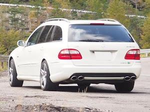 Eクラス ステーションワゴン W211 W211 E350のカスタム事例画像 福さん55さんの2020年10月09日22:14の投稿