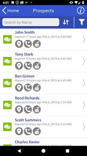 Screenshot for Franchise Insights in United States Play Store